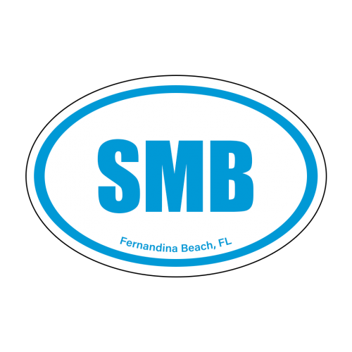 Oval Logo Sticker